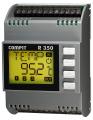Dwustopniowy sterownik temperatury, regulator PI + regulator krokowy (sterowanie 3-punktowe) R350.07